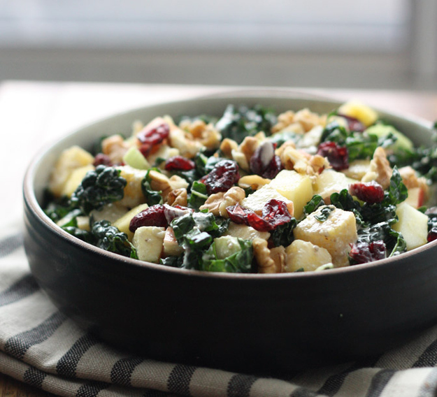Sweet and Nutty Kale Salad