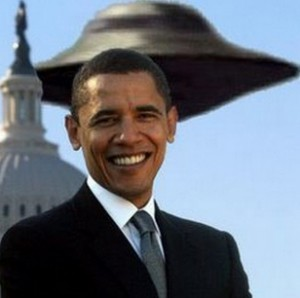 Obama: 'I just became the first president to ever publicly mention Area51′