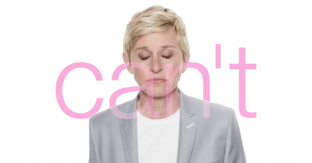 Ellen, Katy Perry, And A Hockey Player Walk Into An Ad And Shatter A Ridiculous Argument