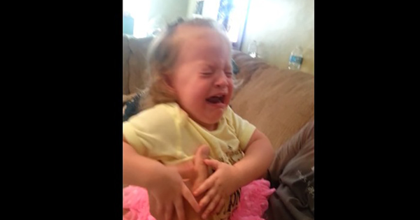 This Little Girl Gets The Most Hilarious Surprise While Playing Peek-A-Boo.