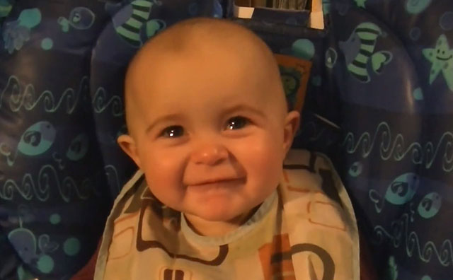 Emotional Baby Tears Up From Mother's Beautiful Song (VIDEO)