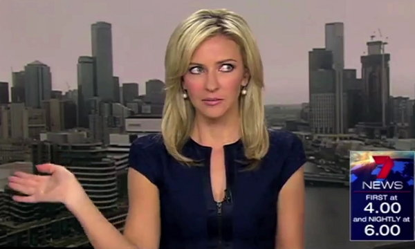 Best News Bloopers of February 2014 (Video)