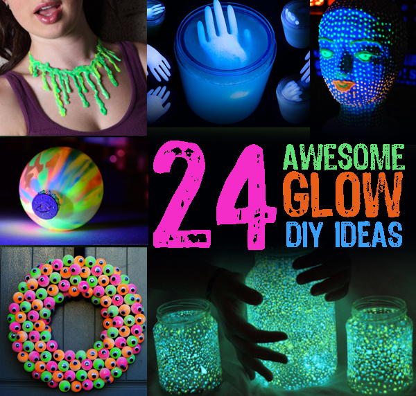 Community Post 24 Awesome Glow Diy Ideas Goorama