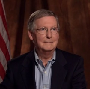 'Worst campaign ad in the history of politics' spawns 'Dramatic Mitch'clip