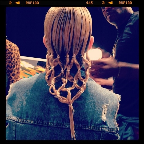 Horse Weave Braids