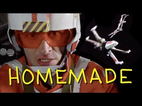"Community Post: Homemade ""Star Wars"" Video Will Blow Your Death Star"