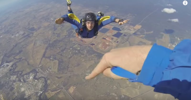 He Had A Seizure In The Middle Of His First Solo Skydive...And He Barely Survived