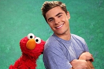 "Zac Efron's Adorable ""Sesame Street"" Appearance"