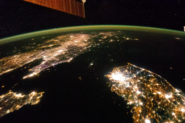 Images Of North Korea At Night