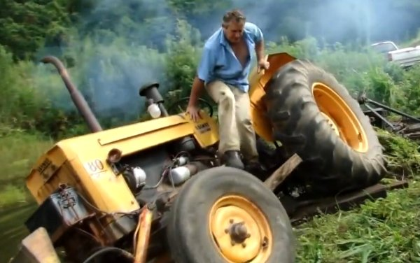 Tractor Fails Compilation (Video)