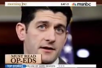 Morning Joe's Paul Ryan / Afghanistan Massacre Montage