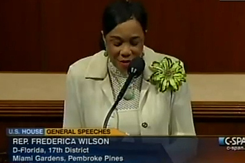 Florida Representative Frederica Wilson's Emotional Speech About Trayvon Martin's Shooting