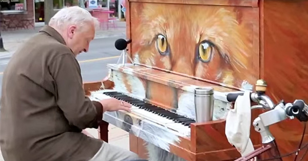 An Elderly Man's Emotional Song Cover Could Stop People In Their Tracks.