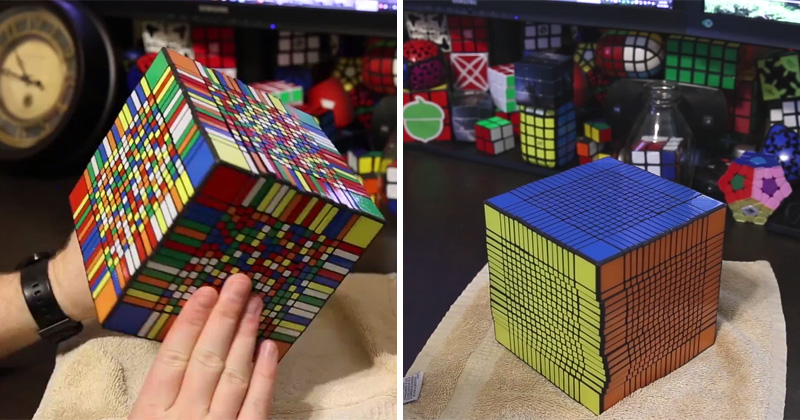 Solving the World's Largest Rubik's Cube (17x17x17)