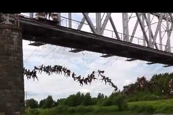 Community Post: Over 100 People Jump Off A Bridge