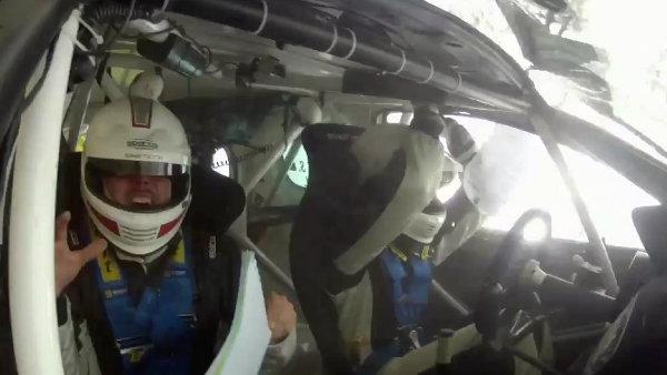 Scary Rally Crash in Belgium (Video)