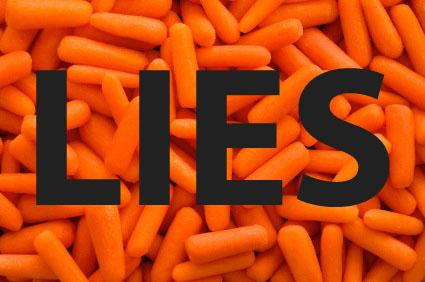 A desconcertante verdade ao respeito das cenouras baby