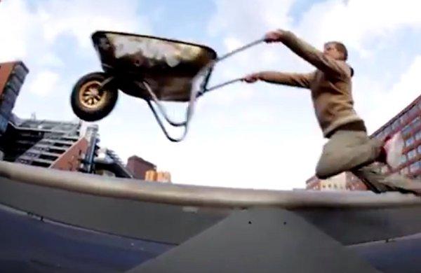 Extreme Wheelbarrowing (Video)