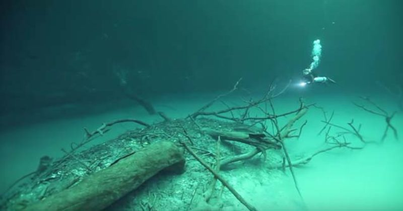 The Concept Of An Underwater River Is Freaky Enough, Even Without The Deadly Gases