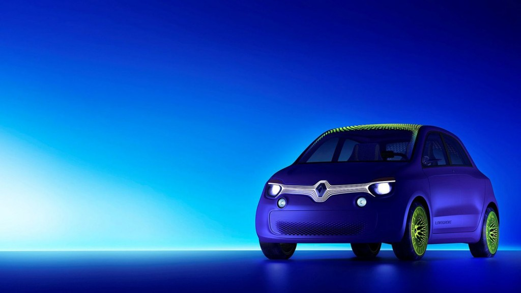 Renault Unveils LED-Covered Electric Car