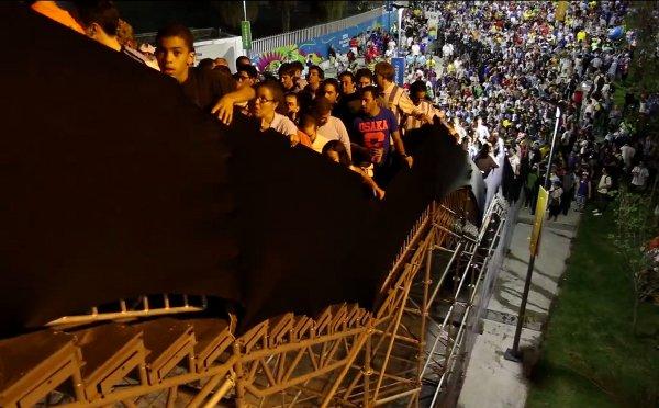 Maracana Stadium Stairs Wobble under World Cup Fans (Video)