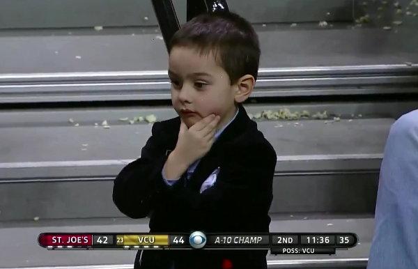 Phil Martelli's Grandson Pretends He's a Basketball Coach Too (Video)