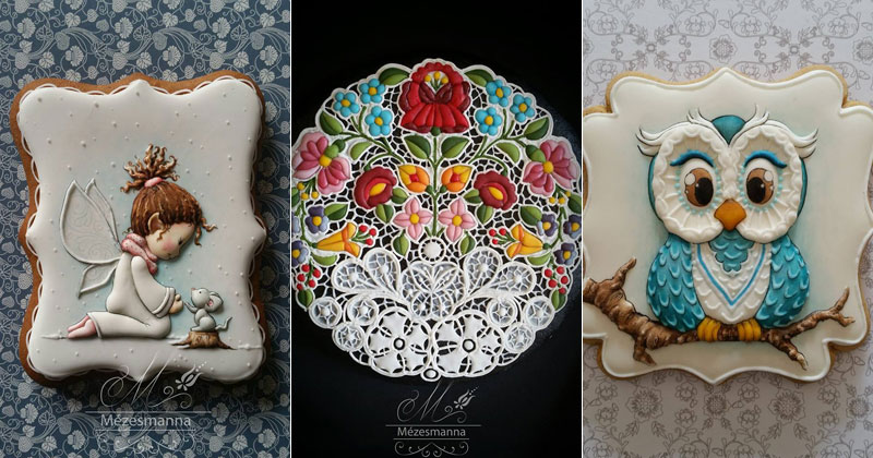 I Had No Idea This Kind of Cookie Art Was Possible (27 photos)
