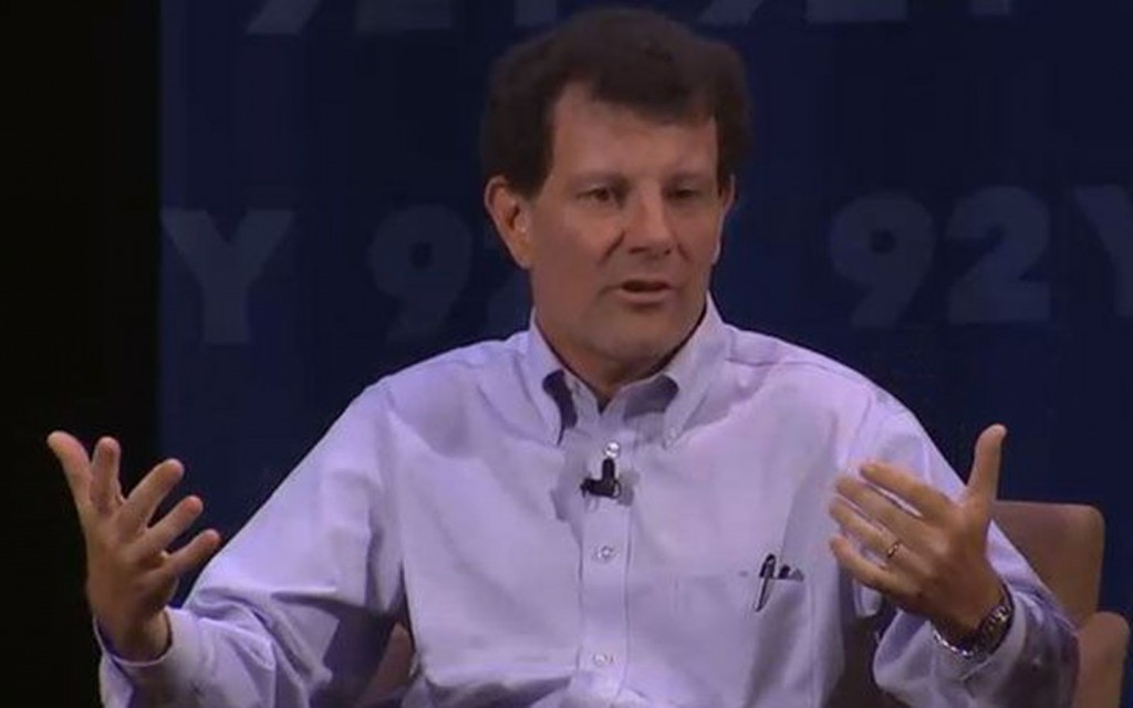 Nick Kristof Takes Social Good Gaming to the Next Level