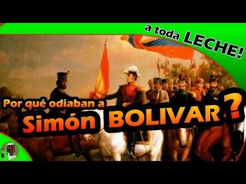 Historia de Simón Bolívar contada por un español