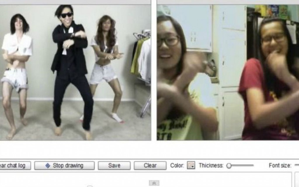Chatroulette Does It Gangnam Style