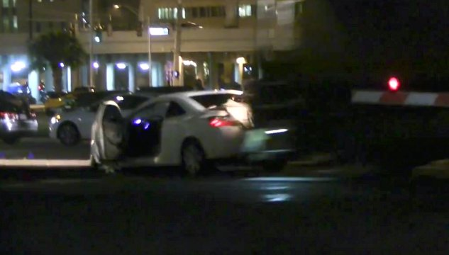 Train Hits Car in Downtown Orlando (Video)