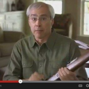 Loading Your Gun On Camera In Your Ads Probably Won't Endear You To A Lot Of People, Congressman