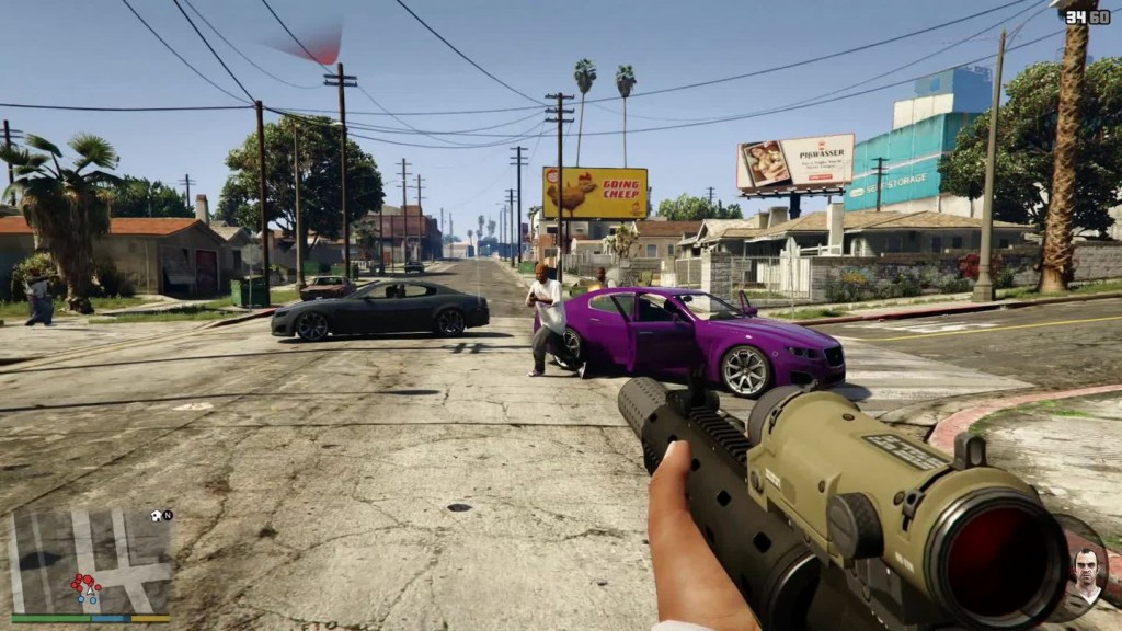 'Grand Theft Auto V' first-person mode changes Los Santos entirely
