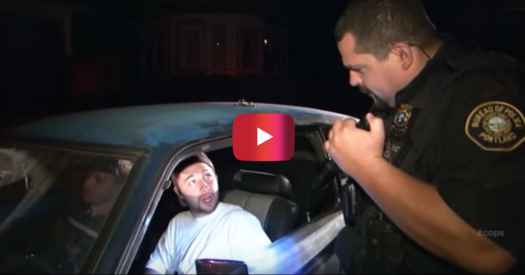 Drunken Dumbass Almost Gets Out Of A DUI, But Then He Does THIS