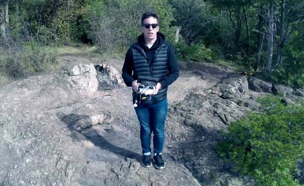 Drone Selfie (Video)