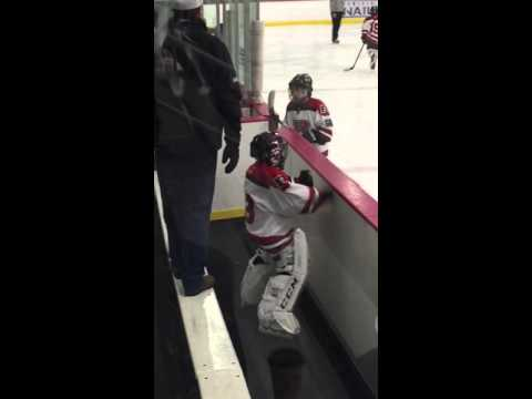 When a Little Goalie Has Moves This Good Off Ice, You Know He's Gonna Be a Wall on Ice