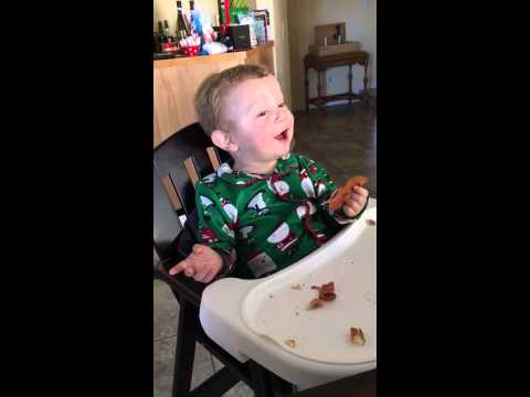 This Baby Eating Bacon For the First Time Will Only Remind You That You'll Never Be That Happy Again