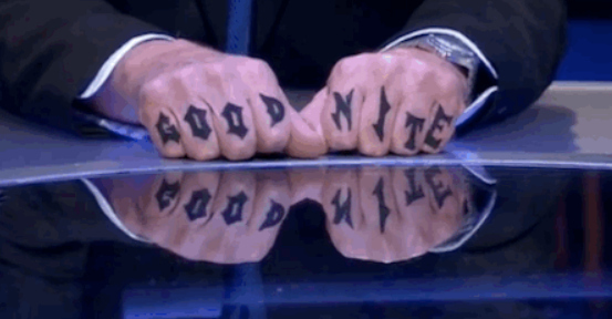 "Jeremy Paxman Paid Tribute To David Dimbleby's Tattoo On ""Newsnight"""