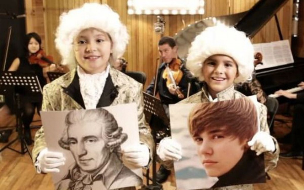 How Can You Teach Kids To Enjoy Mozart? Mashup Beethoven and Beiber