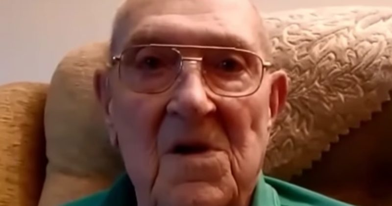 Caretaker For WWII Veteran Caught On Camera Doing Something Despicable