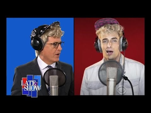 """This Is Why They Didn't Invite Stephen Colbert to Sing That Acapella """"Fight Song"""" for Hillary Clinton"""