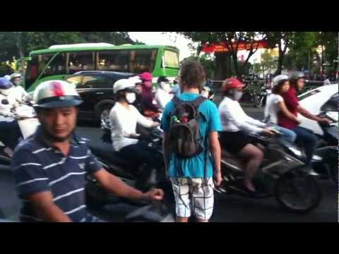 It Takes a Special Kind of Crazy to Cross the Streets in Vietnam