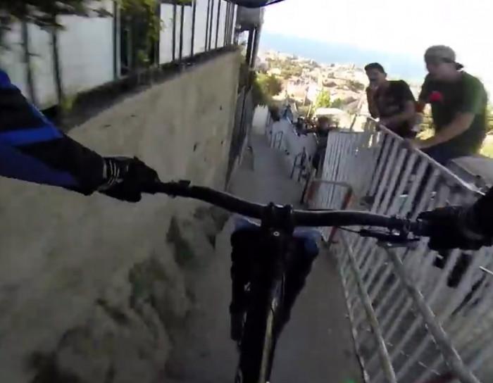 Urban downhill mountain biking will make your palms sweaty