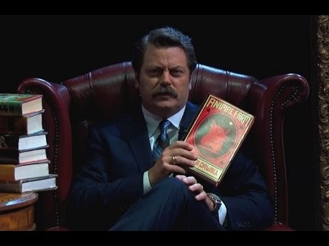 Let Nick Offerman Do Your Summer Reading For You