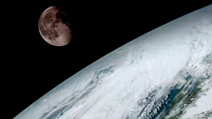 NASA Releases Gorgeous Images Of Earth From New Weather Satellite