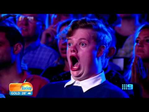 I Have Never Been as Impressed by Anything as This Guy is Watching Australia's Got Talent