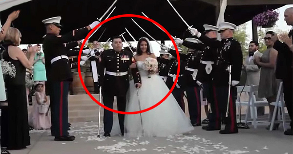 Community Comes Together To Give A Triple Amputee Vet The Wedding Of His Dreams.