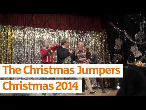 An Unexpected Moment of Greatness as These Dads Get Their Christmas Jig on