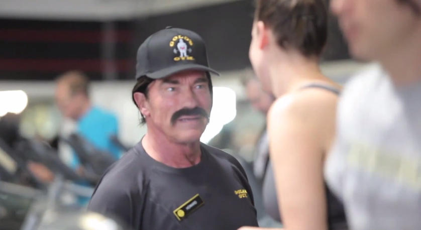 Arnold Schwarzenegger Went Undercover As A Trainer At A Gold's Gym