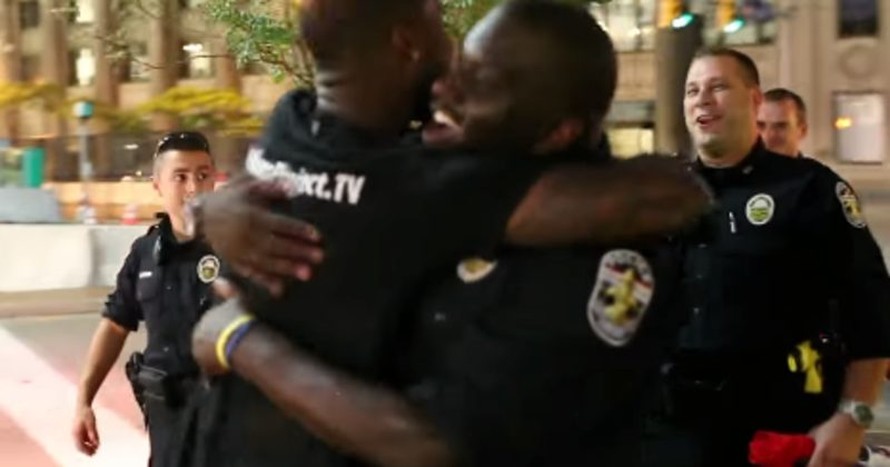 He Walked Up To A Cop With His Hands Up -- What Happened Next Is So Important